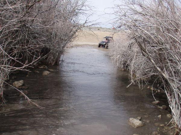 Members of the Utah ATV Association ride to Cherry Creek.